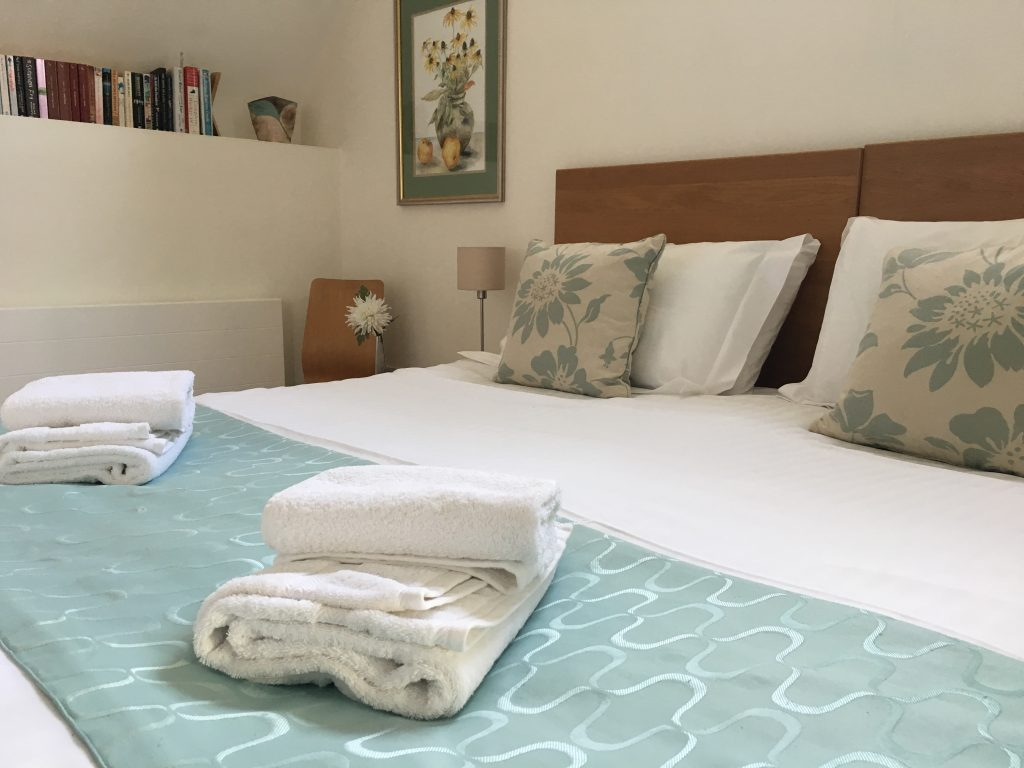 Bedroom at Granton Coach House a Luxury Self Catering Holiday Cottage