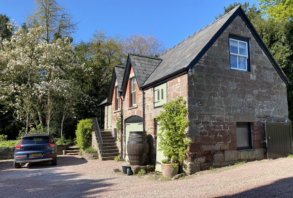 self catering in wye valley